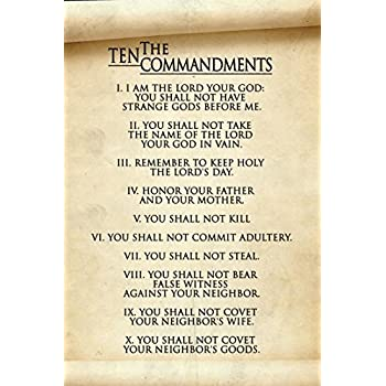 Image result for 10 commandments