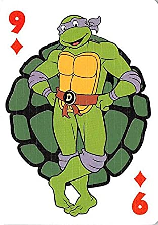 Donatello trading playing card Teenage Mutant Ninja Turtles ...