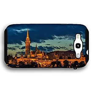 Budapest Hungary Parliament Building at Night Samsung Galaxy S3 Armor Phone Case