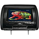 Concept Cld-703 7 Chameleon Headrest Monitor With Hd Input Built-In Dvd Player Touch Buttons & High Audio Output