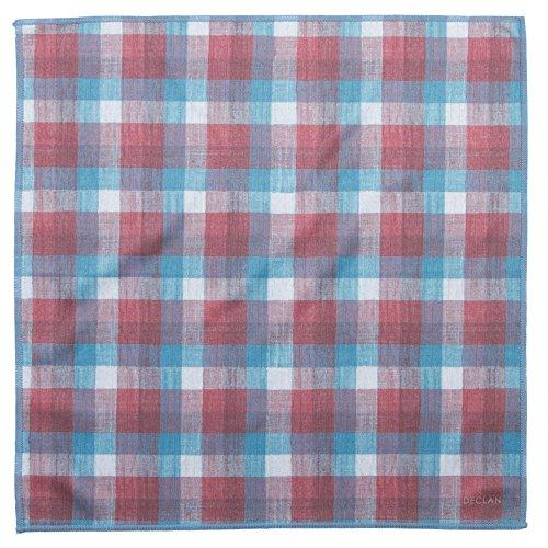 Declan 12.2 Inch Microfiber Pocket Square, Handkerchief, Cleaning Cloth (Norton) (Norton Ipad)
