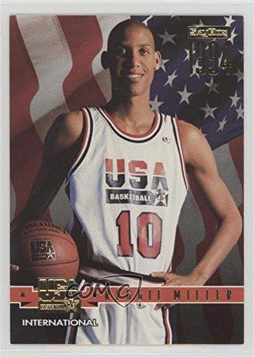 Reggie Miller (Basketball Card) 1994 Skybox USA Basketball - [Base] - Gold #73