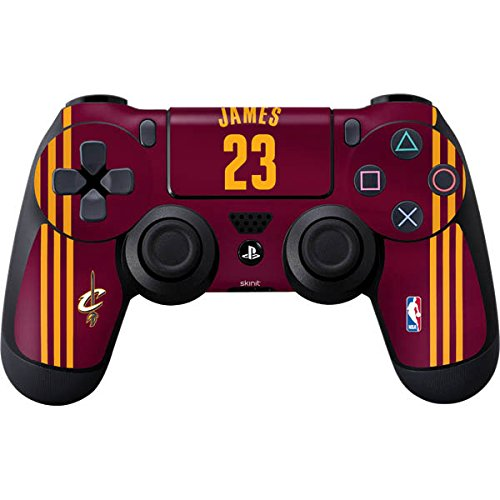 Cleveland Cavaliers PS4 Controller Skin - LeBron James #23 Cleveland Cavaliers Away Jersey | NBA & Skinit Skin