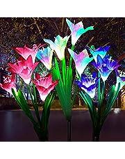 Solar Lily Light