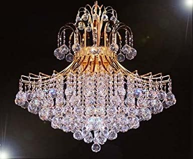 French empire crystal chandelier chandeliers lighting h30 x w24 french empire crystal chandelier chandeliers lighting h30 x w24 amazon aloadofball Choice Image