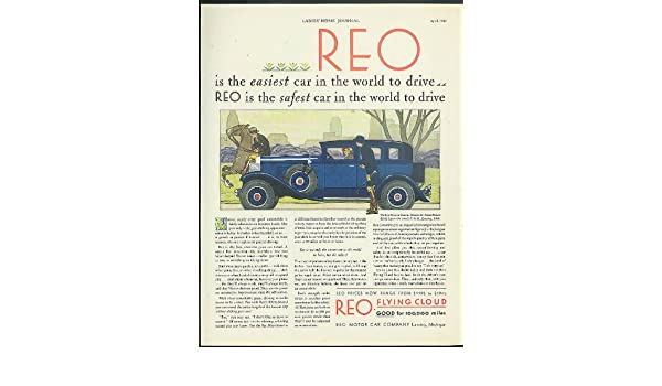 Drive In Reo >> Amazon Com Easiest Car In The World To Drive Reo Flying Cloud Model