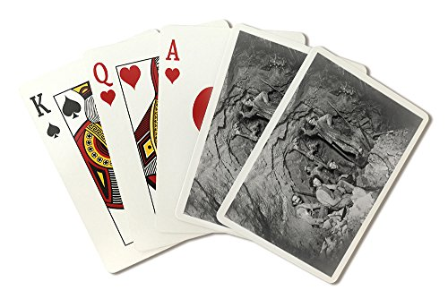 Coeur Dalene  Idaho   Chance Mine Lead Mining   Vintage Photograph  Playing Card Deck   52 Card Poker Size With Jokers