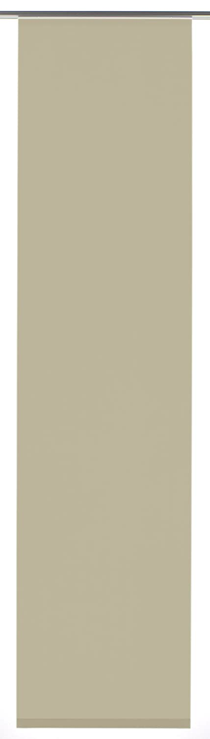 GARDINIA Panel Curtain (1 Piece), Sliding, Opaque, Taupe Entry Fabric, 60 x 245 cm (WxH) Gardinia Home Decor GmbH 33187