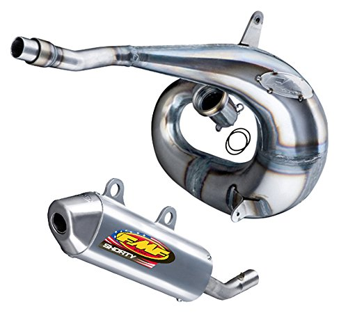 - FMF Exhaust System - Factory Fatty Pipe & Shorty Silencer - Yamaha YZ250-1999_024056|020266