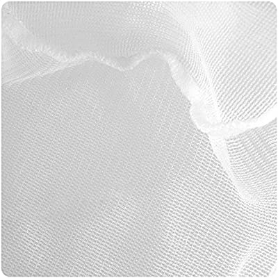 8-Inch by 6.5-Inch by 12-Inch Taam ATATW812W Wood Handle Net for Aquarium White