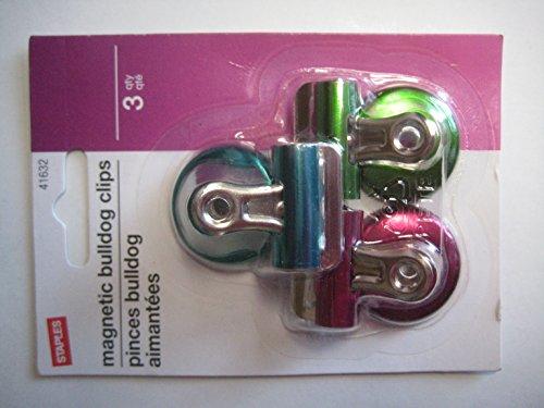 colored bulldog clips - 3