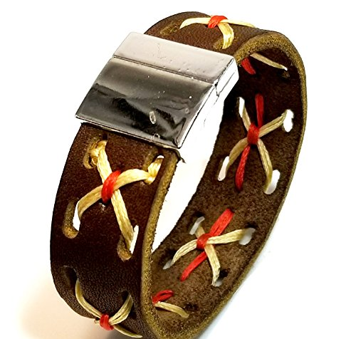 Christian Berkey Handmade Men's Bracelet - Limited Edition Leather Bracelet by Christian Berkey Signature Accessories