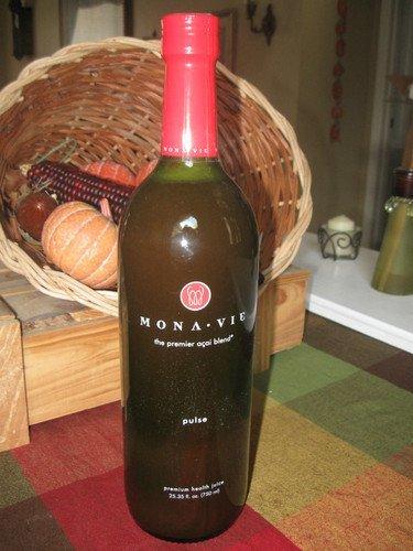 Monavie Pulse 4 Bottle Health Juice by Monavie