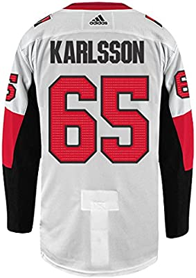 finest selection 07278 7e6c8 Amazon.com : Erik Karlsson Ottawa Senators Adidas Authentic ...
