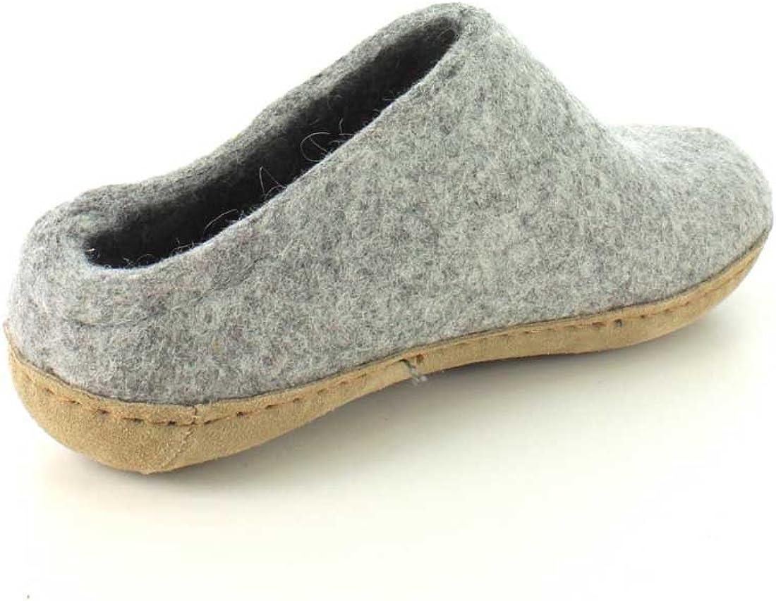 Glerups Women's Model B Slipper Grey