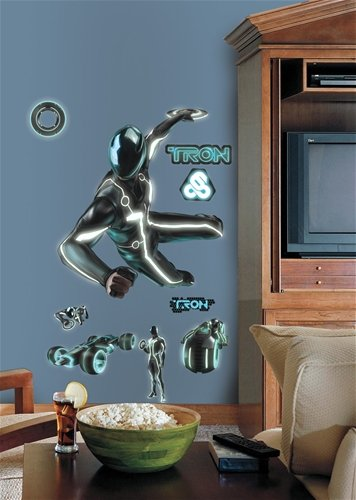 RoomMates RMK1530GM Tron Sam Peel & Stick Giant Wall Decal by RoomMates