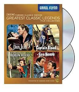 TCM Greatest Classic Film Collection: Legends - Errol Flynn (The Adventures of Robin Hood / Captain Blood / The Sea Hawk / Adventures of Don Juan)