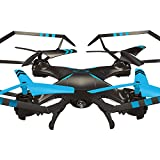 Inverlee A25 6-Axis Gyro RC Quadcopter RTF Flying Toys Helicopter a Good Gift for Children (Blue)