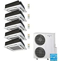Thermocore T321Q-12X5-Cass Ductless Mini Split, Large, White