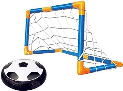 Los niños Entienden el Juguete de fútbol, el Mundo Negro de fútbol con Objetivo con fotoeléctrico para Detener el fútbol en Interiores: Amazon.es: Hogar