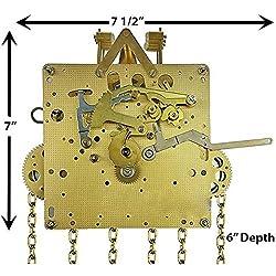 Hermle 451-050 Chain Drive Grandfather Clock Movement (451-050/114cm)
