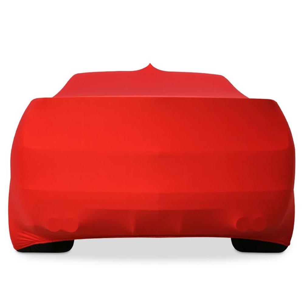 2010-2017 Camaro Ultraguard Stretch Satin Indoor Car Cover Red