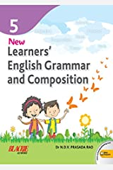 New Learner's English Grammar & Composition Book 5 Paperback