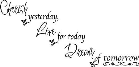 Amazon.com: Cherish Dream Live Quote Décor Family Quotes ...
