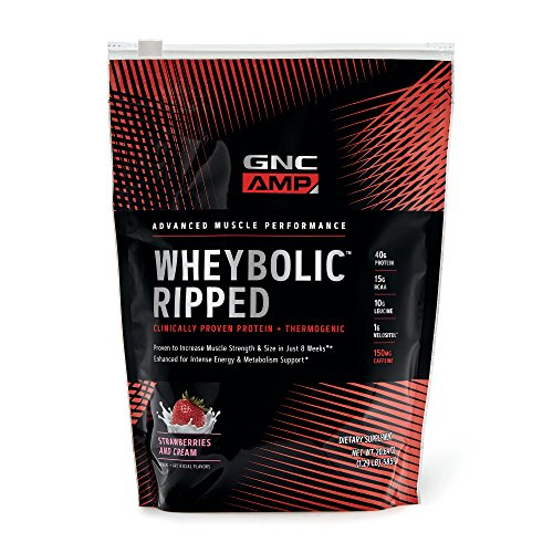 GNC AMP Wheybolic Ripped – Strawberries and Cream For Sale