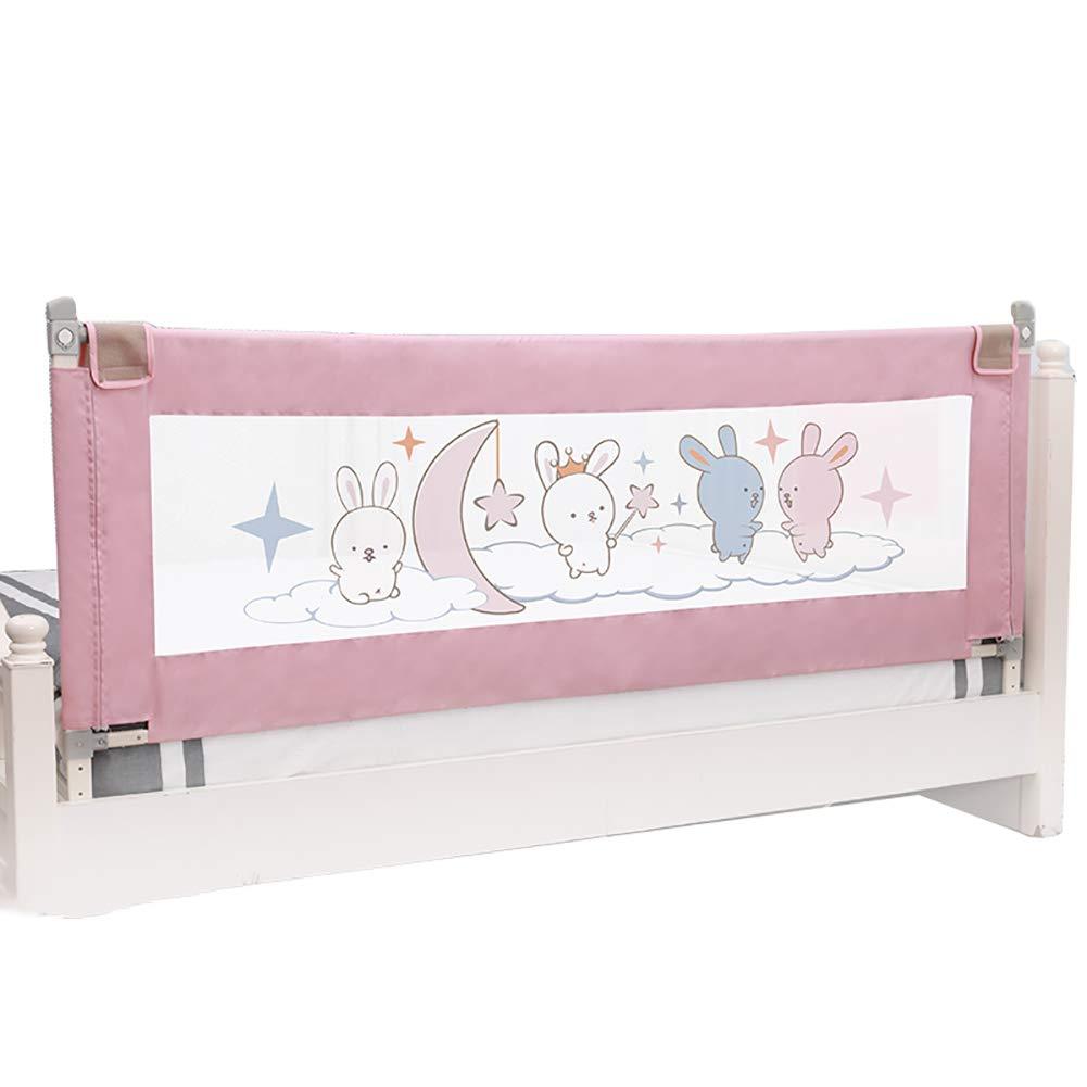 ベッドフェンス- 幼児用エクストラロングベッドガードレール、フルサイズクイーン&キングマットレス用ポータブル垂直リフト&ダウンベッドレール(1面) (サイズ さいず : 150cm) 150cm  B07KPTFN2J
