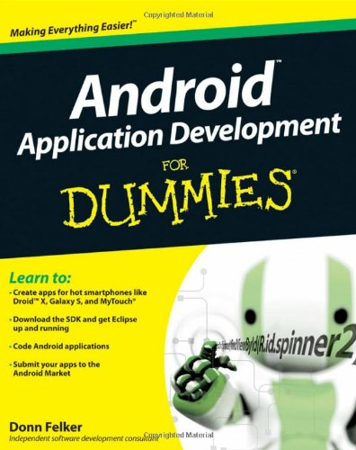 Android Application Development For Dummies (Best Platform For Web Application Development)