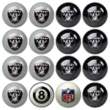 IFS - Oakland Raiders NFL 8-Ball Billiard Set