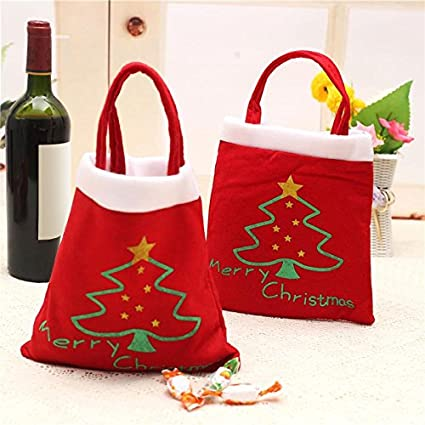b149ce84430a jimmy liam Stockings   Gift Holders - Merry Chrismas Bag Kids Gift Candy  Bags Pouch Mini