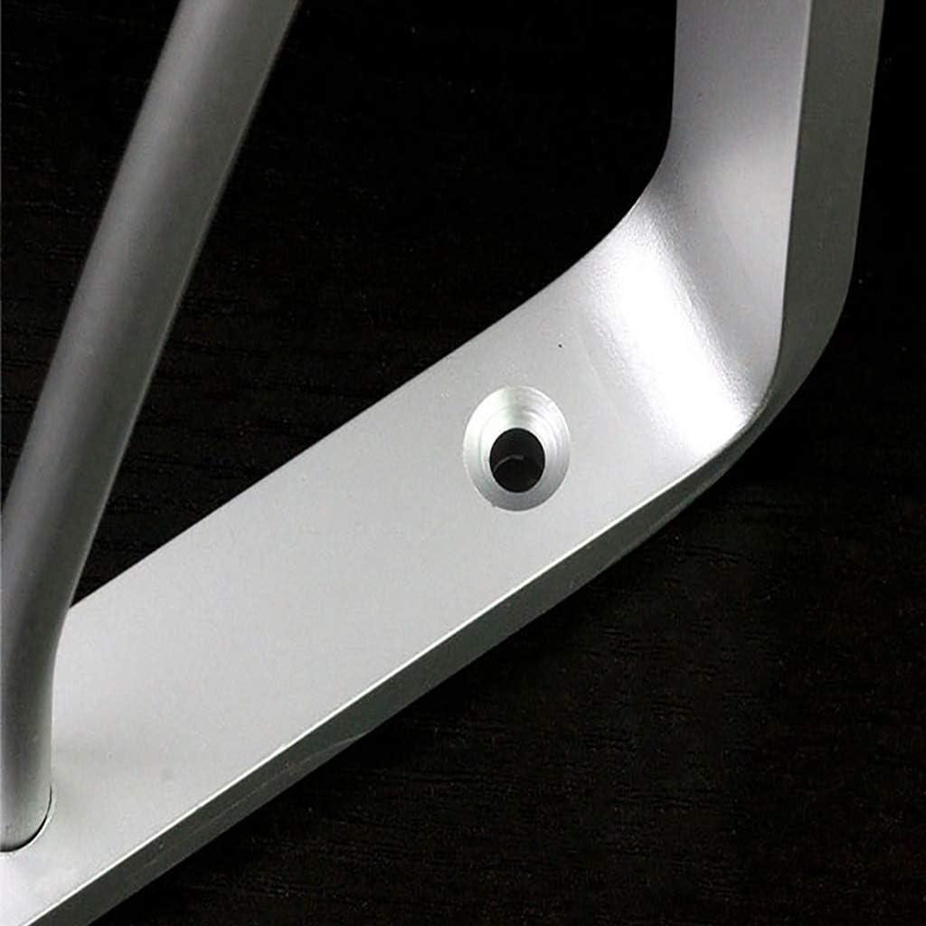 Clips de 8 mm de grosor los accesorios se pueden montar libremente capacidad de carga m/áxima de 150 kg 175mm Soporte de estante de acero inoxidable