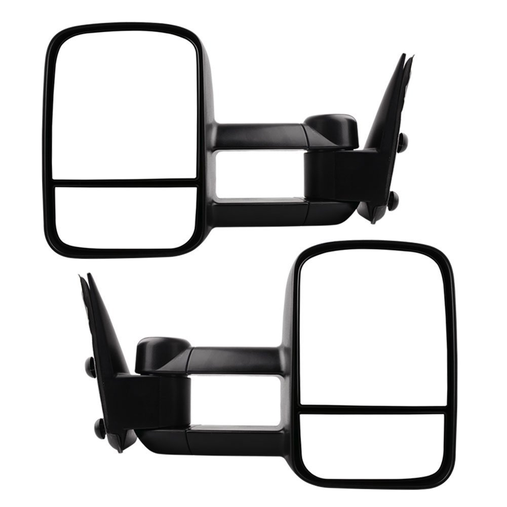 Tow Mirrors for 1999-2006 Chevy Silverado GMC Sierra Truck Towing Mirrors Manual Telescoping Side Mirrors Pair Set