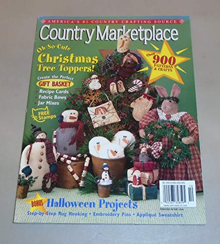 (COUNTRY MARKETPLACE Magazine Volume 12 Number 5, Sept. /oct. 2002)