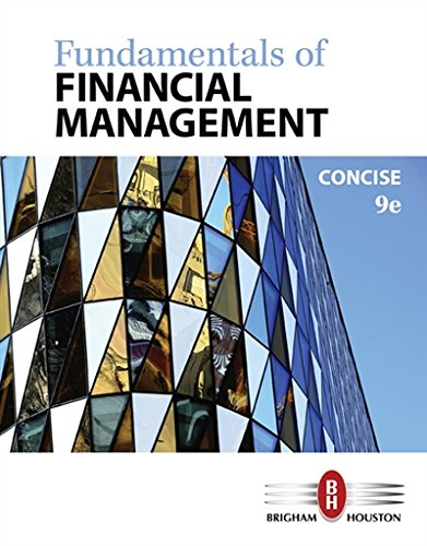 Fundamentals of Financial Management, Concise Edition cover