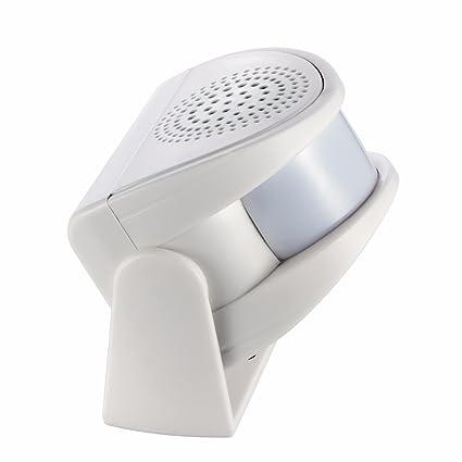 Timbre Bienvenida avisador Entrada Personas con Sensor de Movimiento sin Cables entradas Tiendas, oficinas,