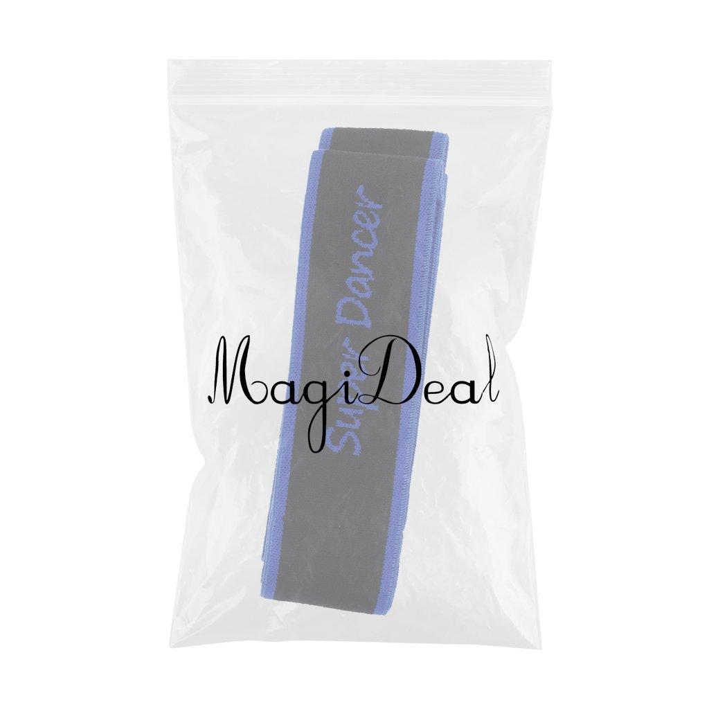 MagiDeal 1 x Yoga Band Gymnastik /Übungsb/änder f/ür Erwachsene 80x4cm Schleife Band
