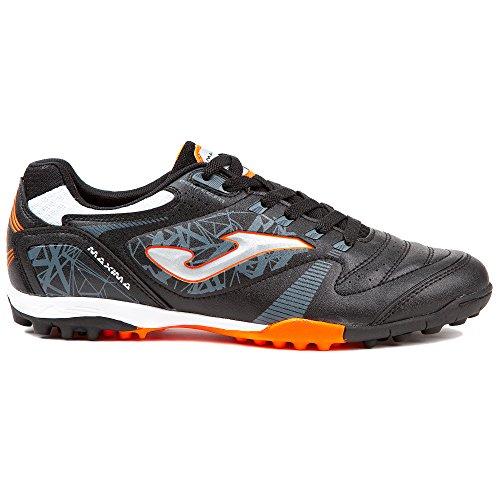 – Czarne Joma Turf Sneaker orange 801 Maxima Unisex Noir Adulto wqPx7YaqA