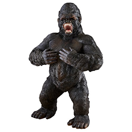 Design Toscano JQ7515 Ape Monster Jungle Animal Statue, Giant, Full Color ()