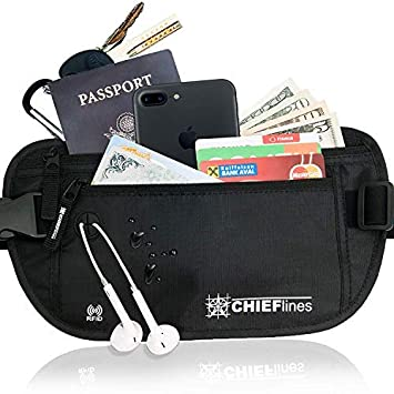 f468026a40f9 Money Belt RFID Blocking Undercover Hidden Waist Stash For Men & Women  Travelling/Travel. Running Belt, Fanny and Waist Pack