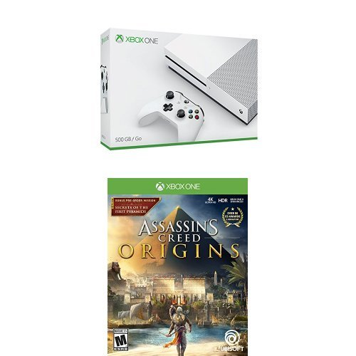 Xbox One S 500Gb Console   Assassins Creed Origins Bundle