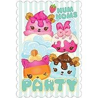 Amscan Num Noms Party Postcard Invitations and Envelopes x 8