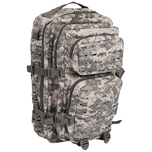 d1db40629f4ce Mil-Tec US Assault Rucksack 20 l Laser Cut Camouflage Hip - Amazon ...