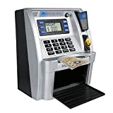 FSMY Canadian Dollars Mini ATM Savings Piggy Money Bank Machine with Card,Password Accession and Coin Recognition