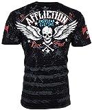 Affliction Men T-Shirt Heroic American Customs