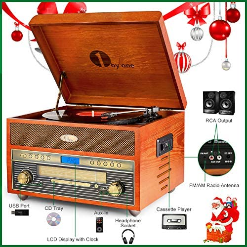 Amazon.com: 1byone - Reproductor de audio y vídeo con ...