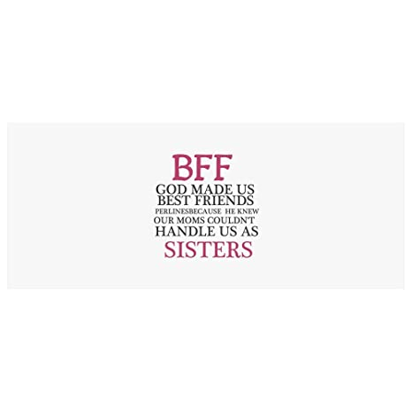 Amazon.com: Best Friends Gifts Funny Quotes BFF GOD MADE US ...