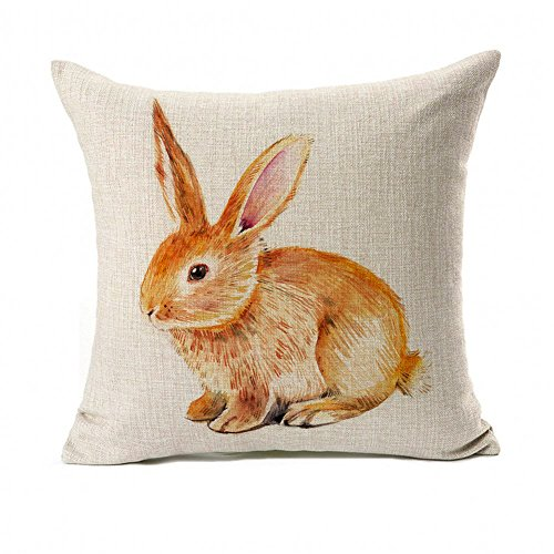 Easter Rabbit Pillow Cushion Cotton product image
